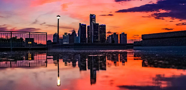 detroit-red-sky